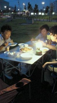 東扇島東公園夜景を見ながら…