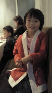 家族でクリスマス会